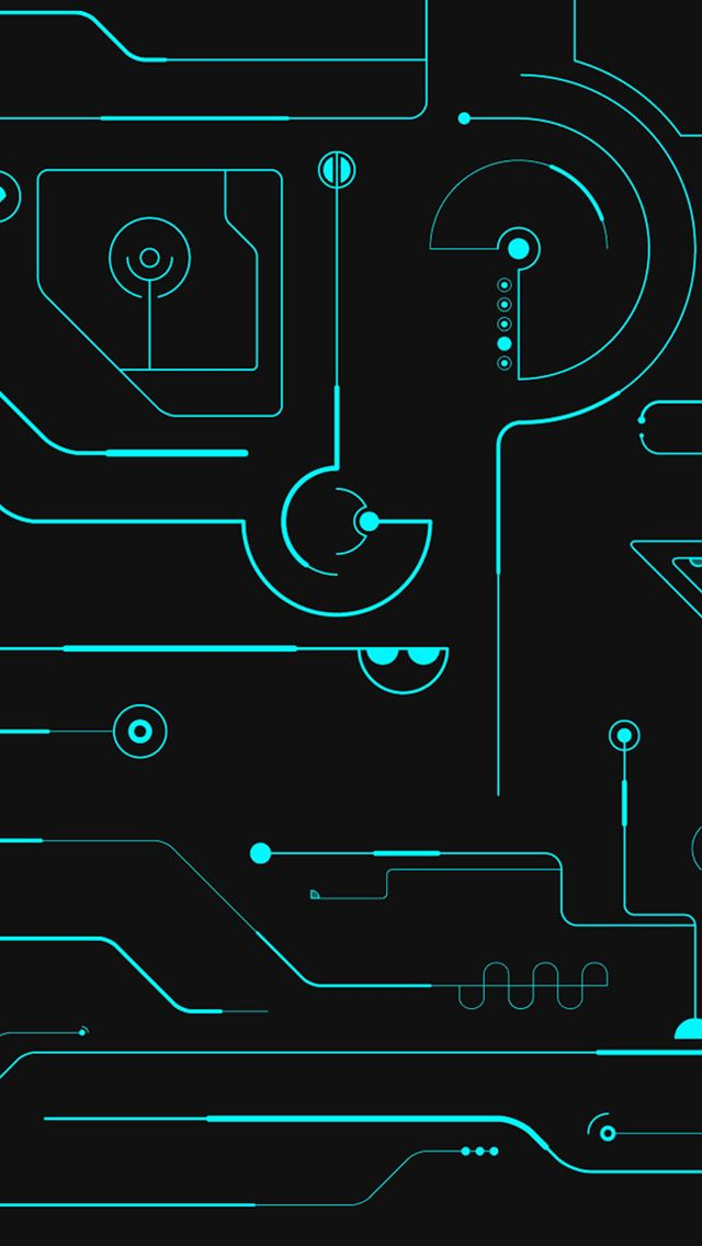 Circuit Board iPhone wallpaper
