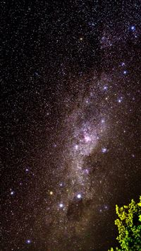 Night Sky Over the Seychelles  iphone wallpaper ilikewallpaper com 200