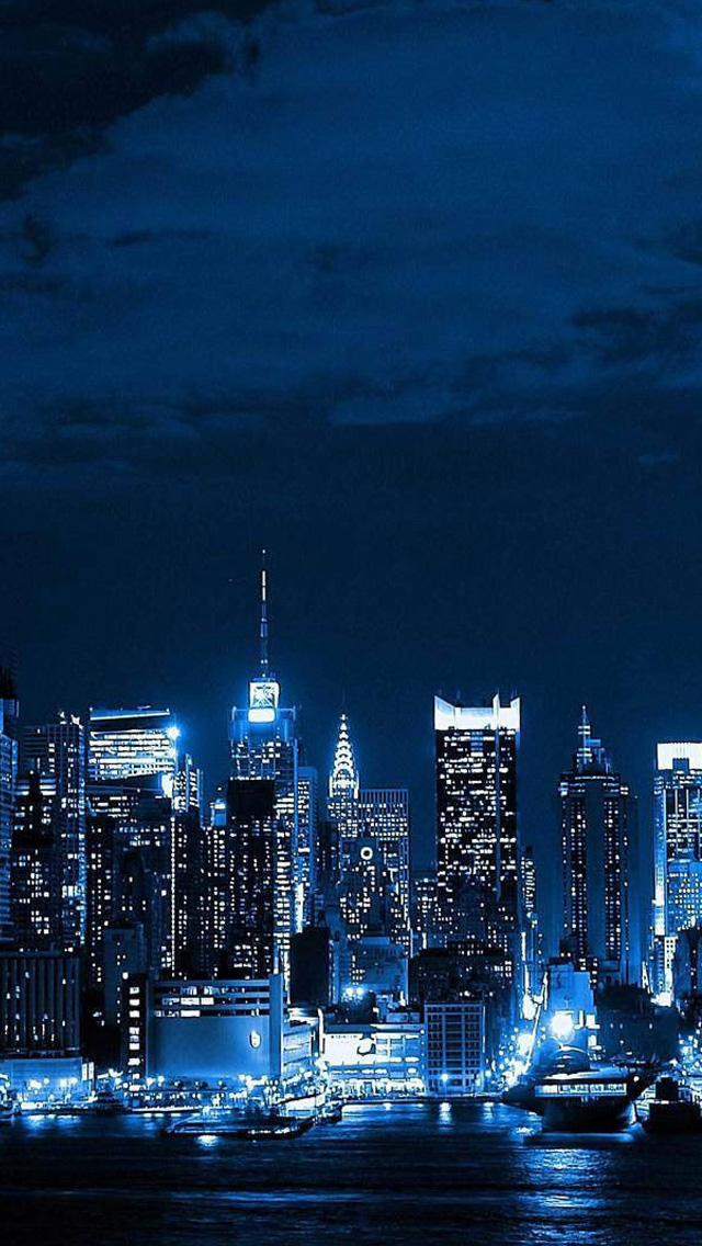 New York City Skyline World Iphone Wallpapers Free Download