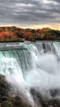 Sunset At Niagara Falls 5k Samsung Galaxy Note 9 8 iphone wallpaper ilikewallpaper com 200