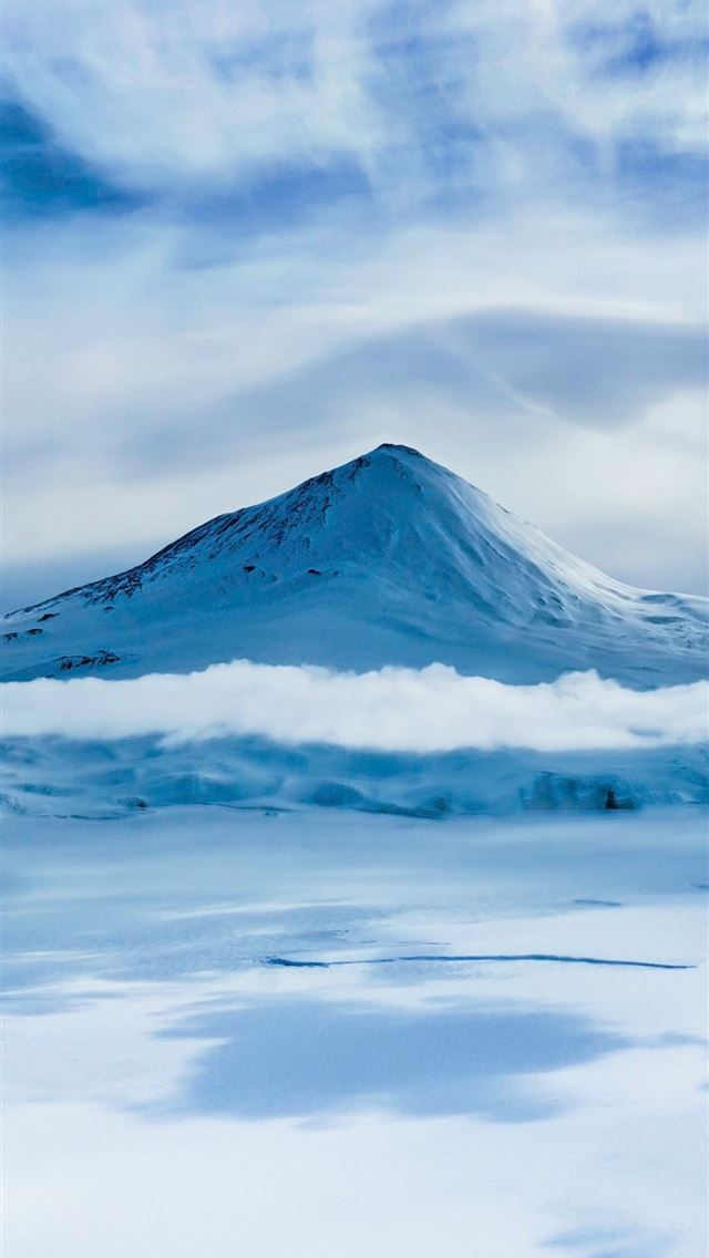 Mount Erebus On Antarctica Samsung Galaxy Note 9 8... iPhone wallpaper