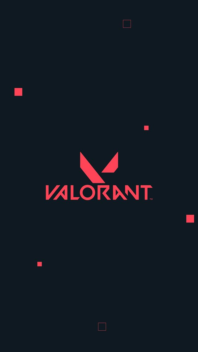 valorant logo 4k iPhone wallpaper