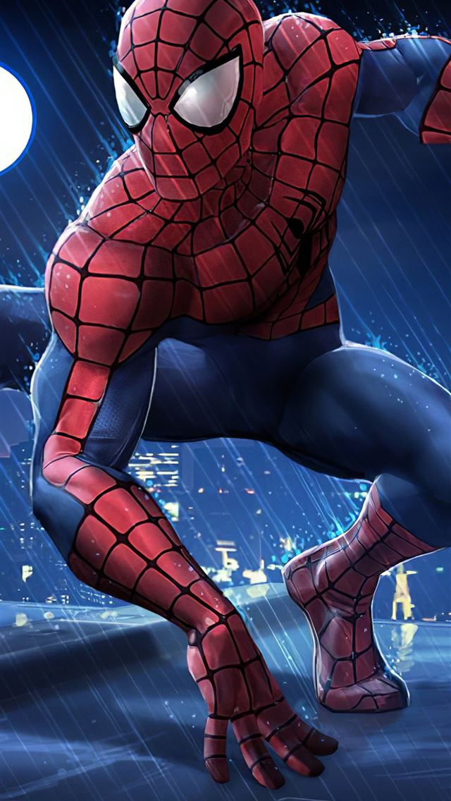 spider man contest of champions iPhone wallpaper