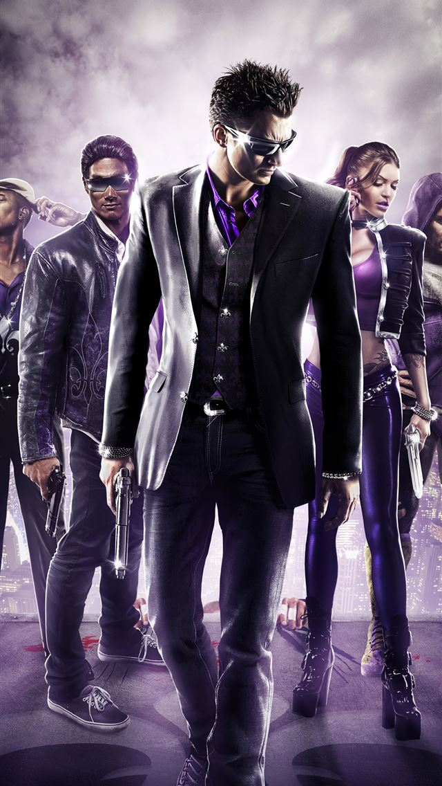 saints row 3 remastered 2020 4k iPhone wallpaper