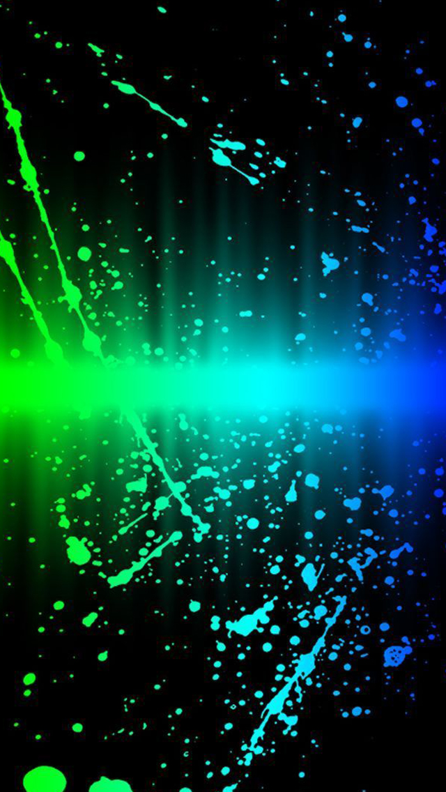 Rainbow Splash Abstract Iphone Wallpapers Free Download