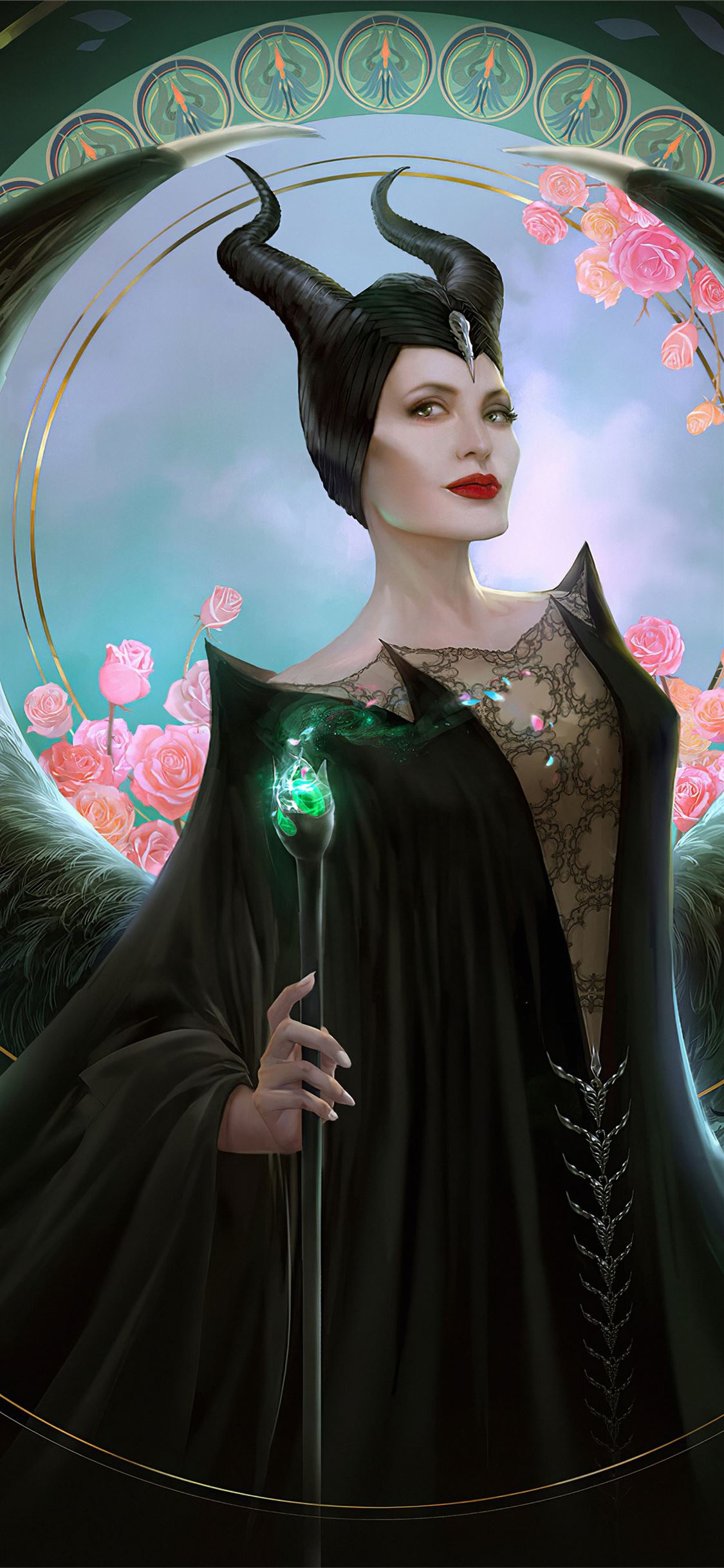 Download Maleficent Wallpaper Iphone Background