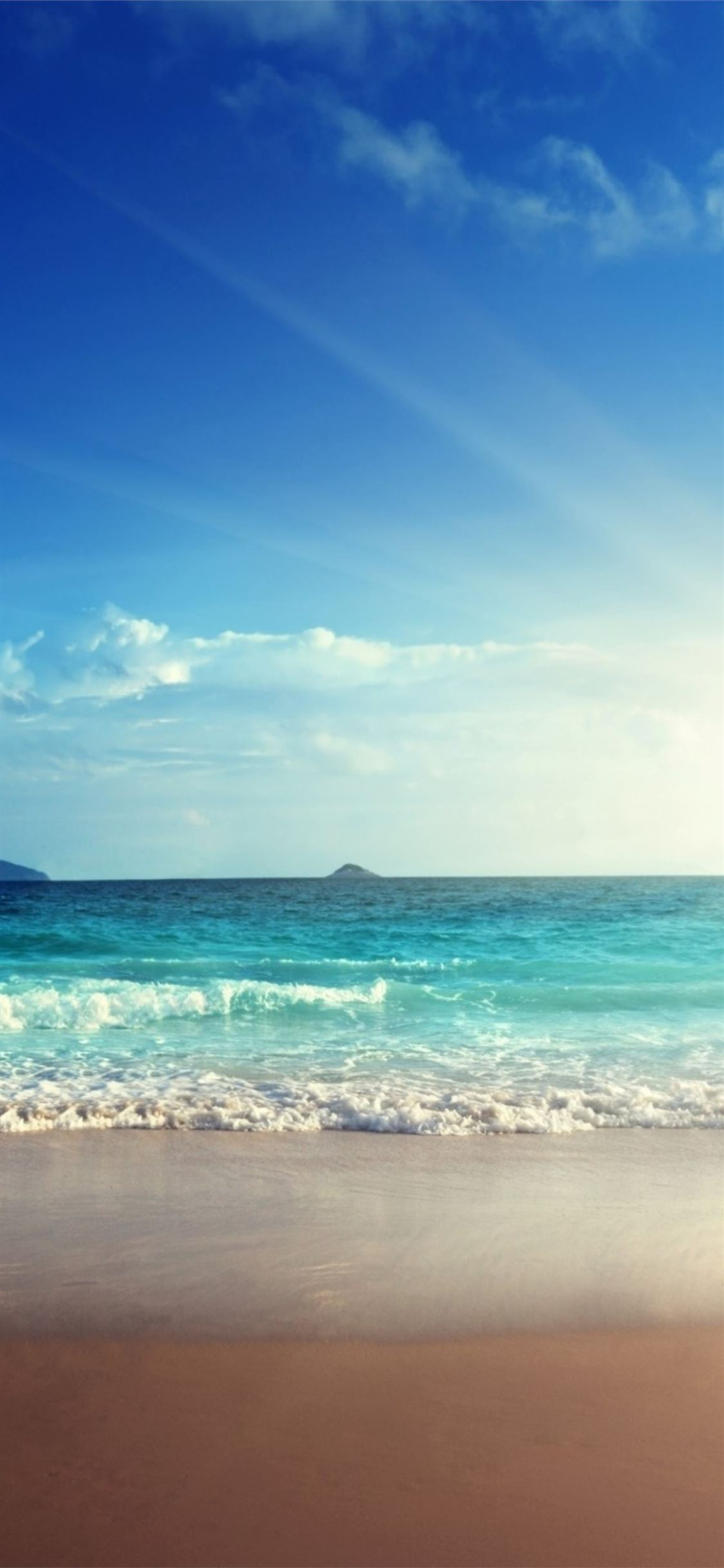 Sea View Clear Sky Iphone X Wallpapers Free Download