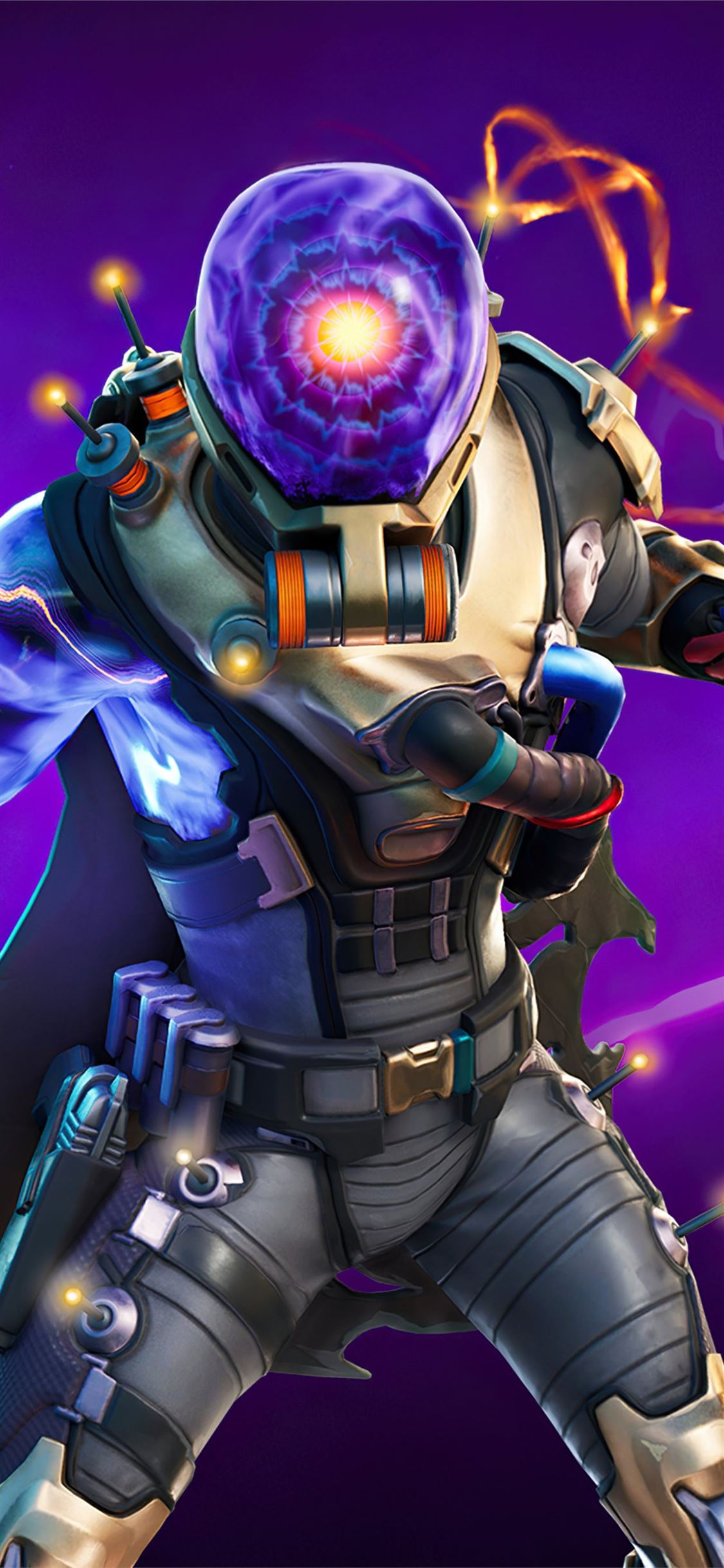 Fortnite Chapter 2 Season 3 Cyclo Outfit Iphone X Wallpapers Free Download