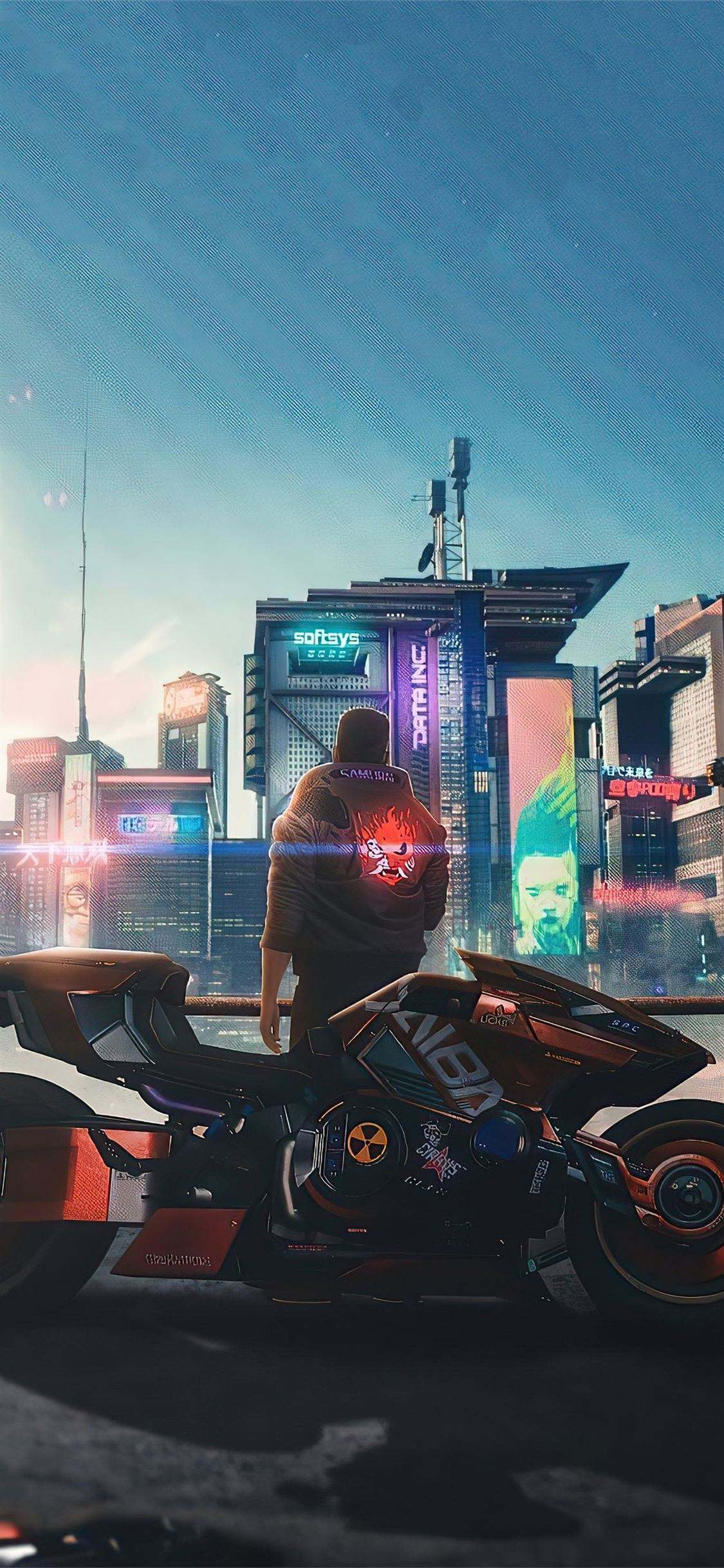 Cyberpunk 2077 Samurai Jacket Iphone X Wallpapers Free Download