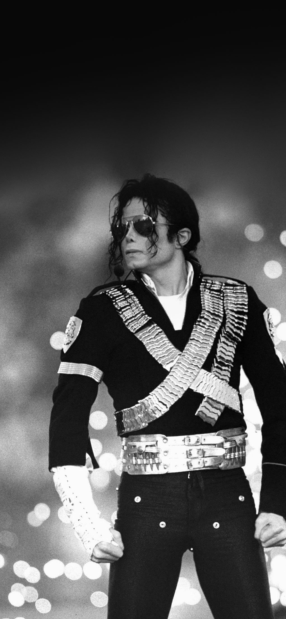 Michael Jackson Bw Concert King Of Pop Iphone X Wallpapers