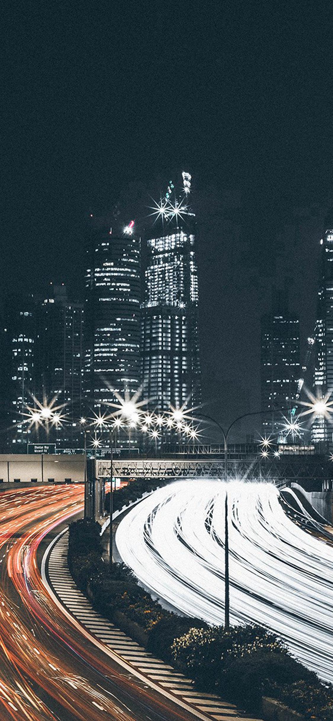City Car Night View Dark Nature Iphone X Wallpapers Free