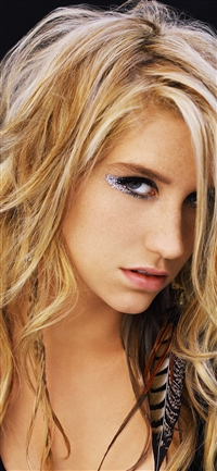 Kesha Singer Pop Artist Celebrity Music iPhone X wallpaper
