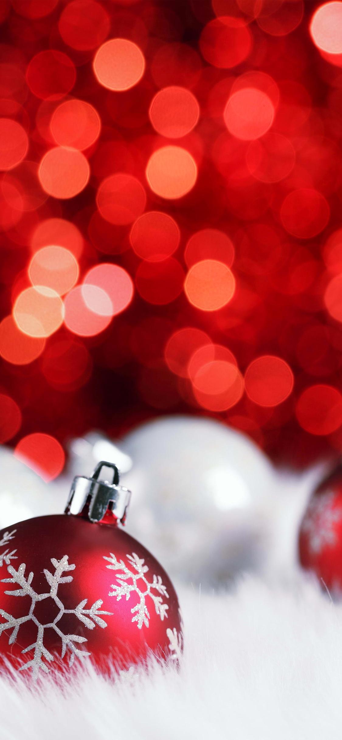 Christmas Bokeh Iphone X Wallpapers Free Download