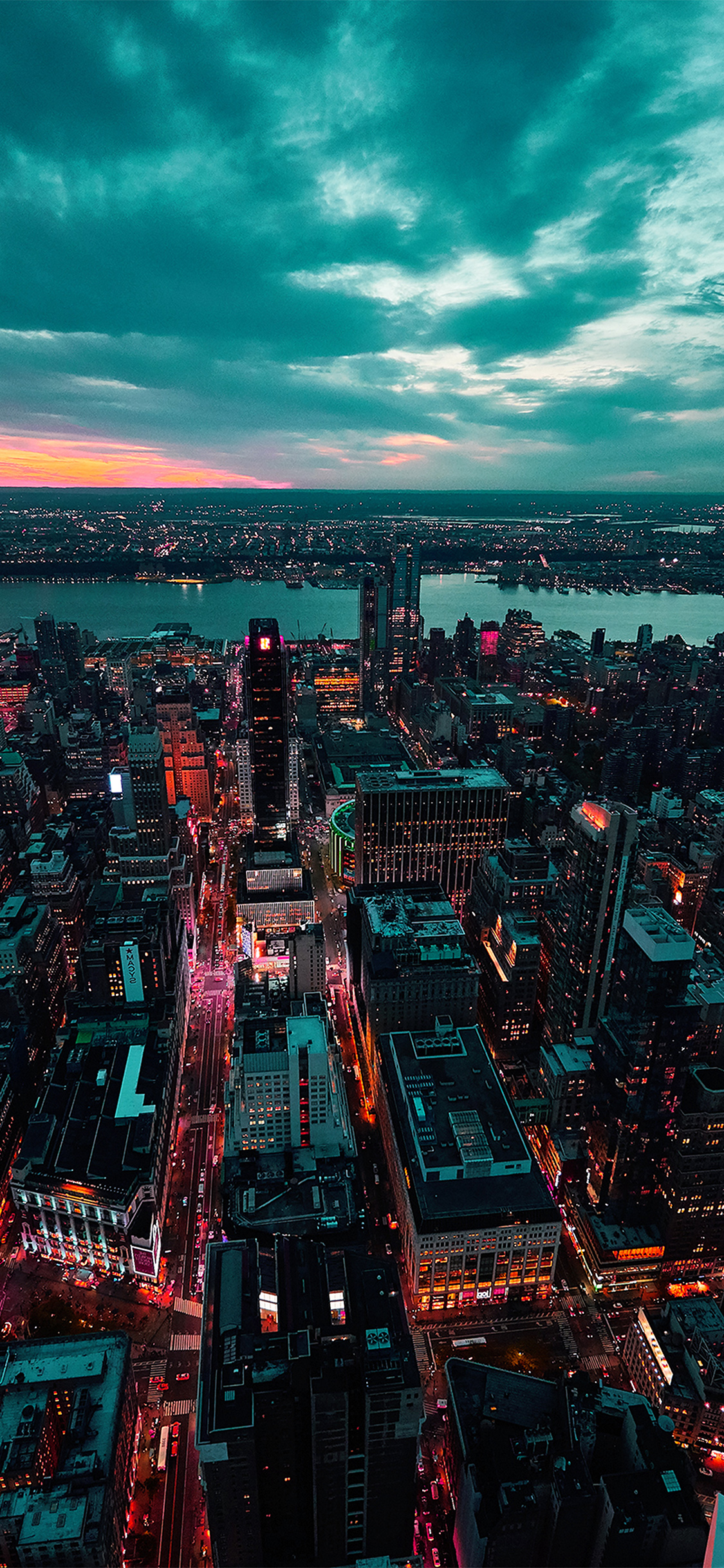 City View Sunset Iphone X Wallpapers Free Download