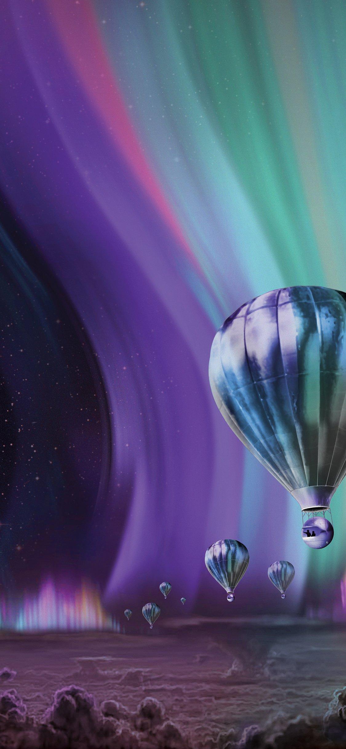 Jupiter Aurora Space Sky Art Iphone X Wallpapers Free Download