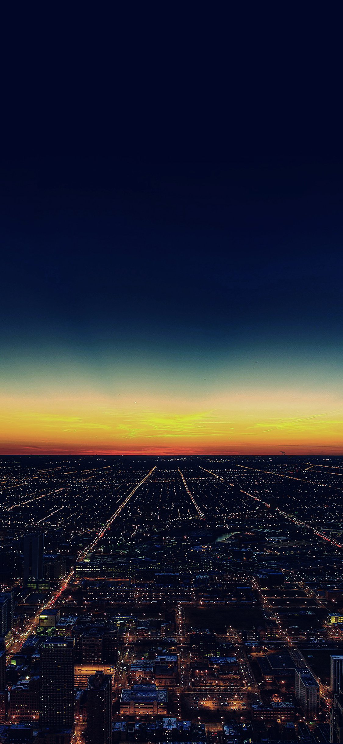 Sunset City Iphone X Wallpapers Free Download