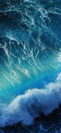 Wave ocean iPhone X(S/Max/R) wallpaper