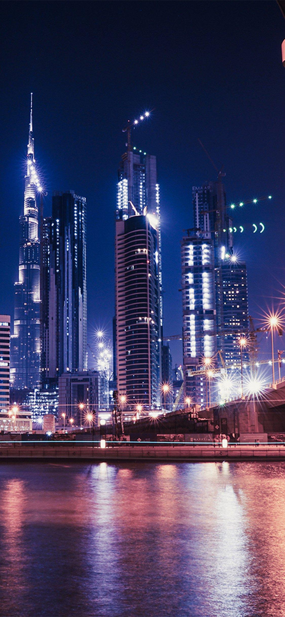 City Night View Hongkong Iphone X Wallpapers Free Download