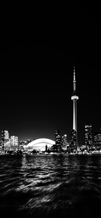 Toronto city night  iPhone X(S/Max/R) wallpaper