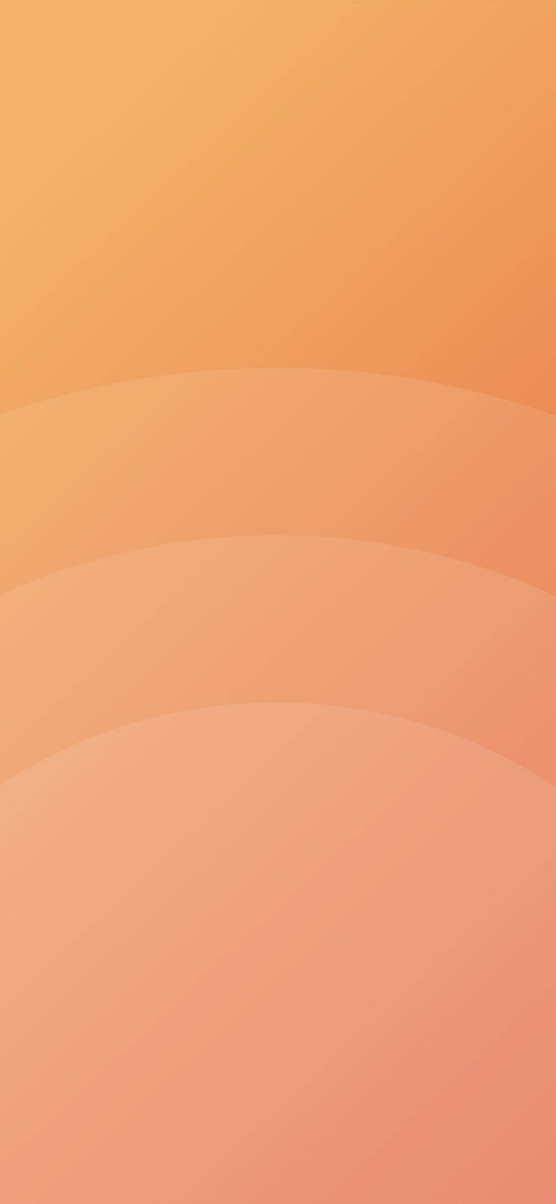 Circle orange simple minimal pattern background iphone x wallpaper ilikewallpaper com