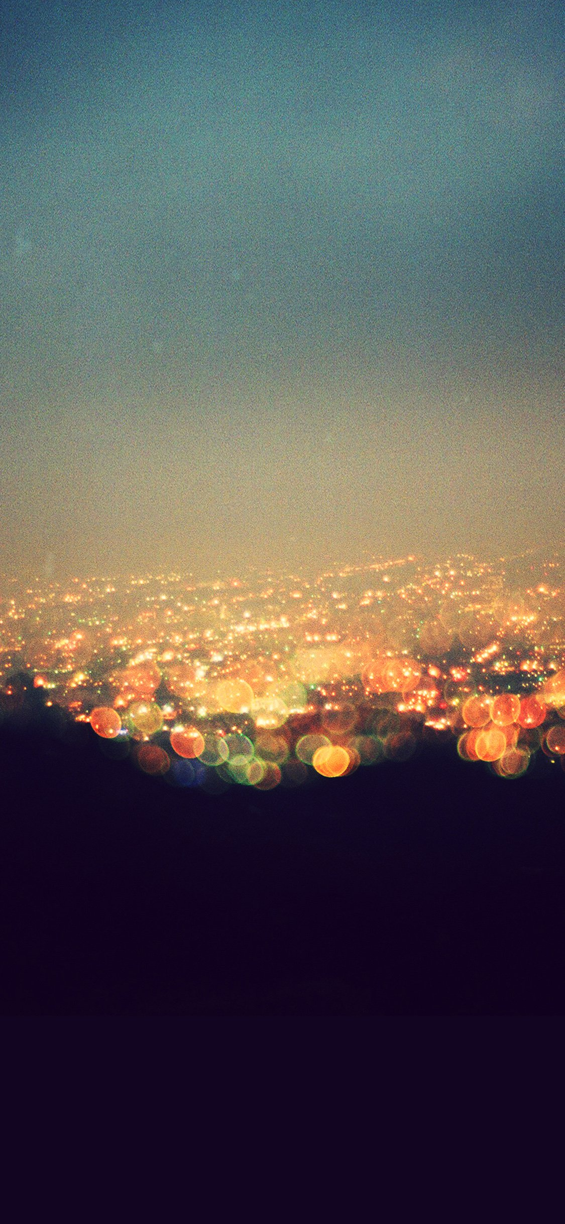 Bokeh Night City View Lights Iphone X Wallpapers Free Download