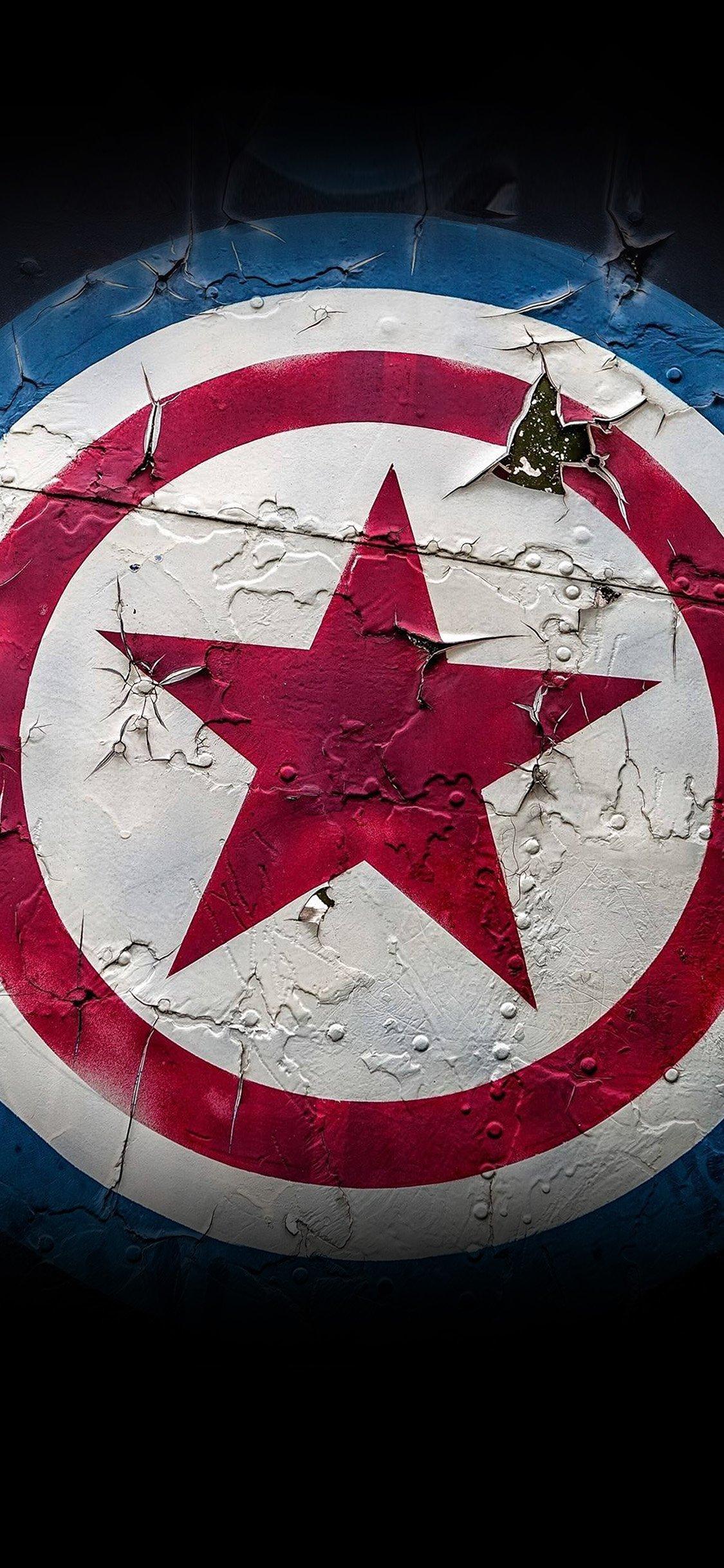 Captain america marvel hero iPhone X