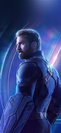 Captain america avengers hero chris evans iPhone X wallpaper