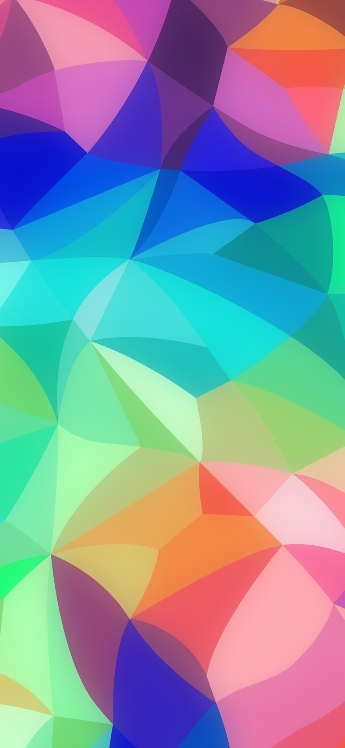 Rainbow Abstract Colors Pastel Pattern Iphone X Wallpaper Download