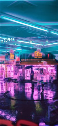 Best Cyberpunk Iphone X Wallpapers Hd Ilikewallpaper