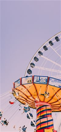 Navy Pier  Chicago  United States iPhone X wallpaper