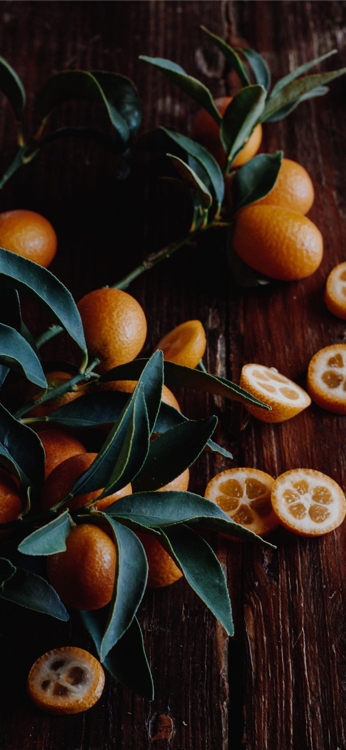Kumquats iphone x wallpaper ilikewallpaper com