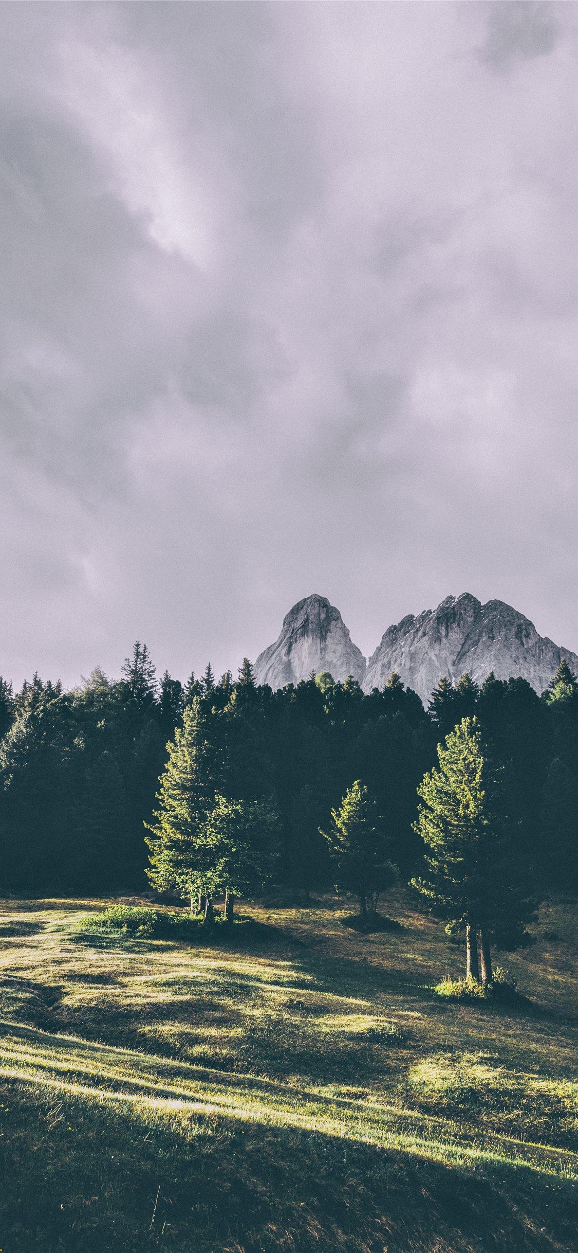 Sass De Putia Dolomites San Martin De Tor Ital Iphone X