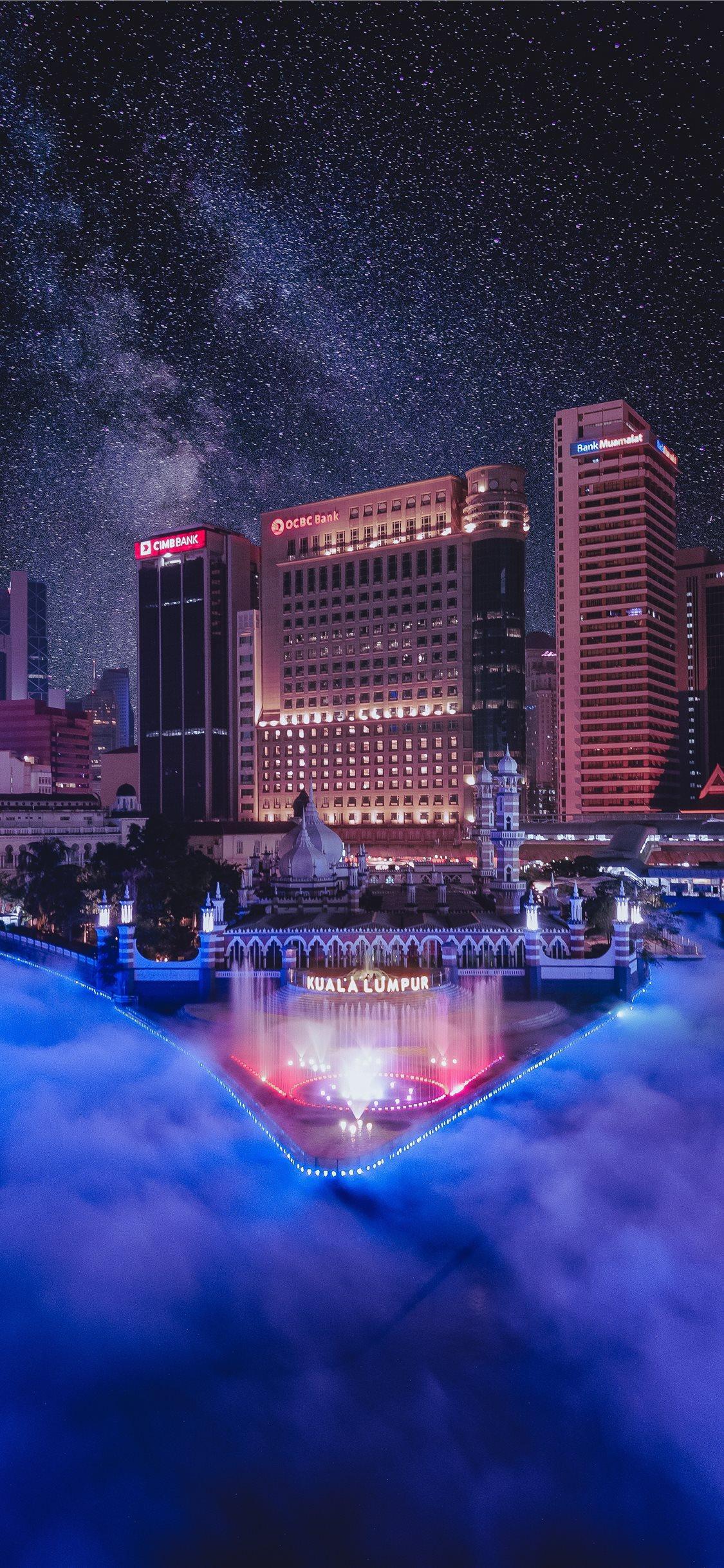 The River of Live Kuala Lumpur iPhone X