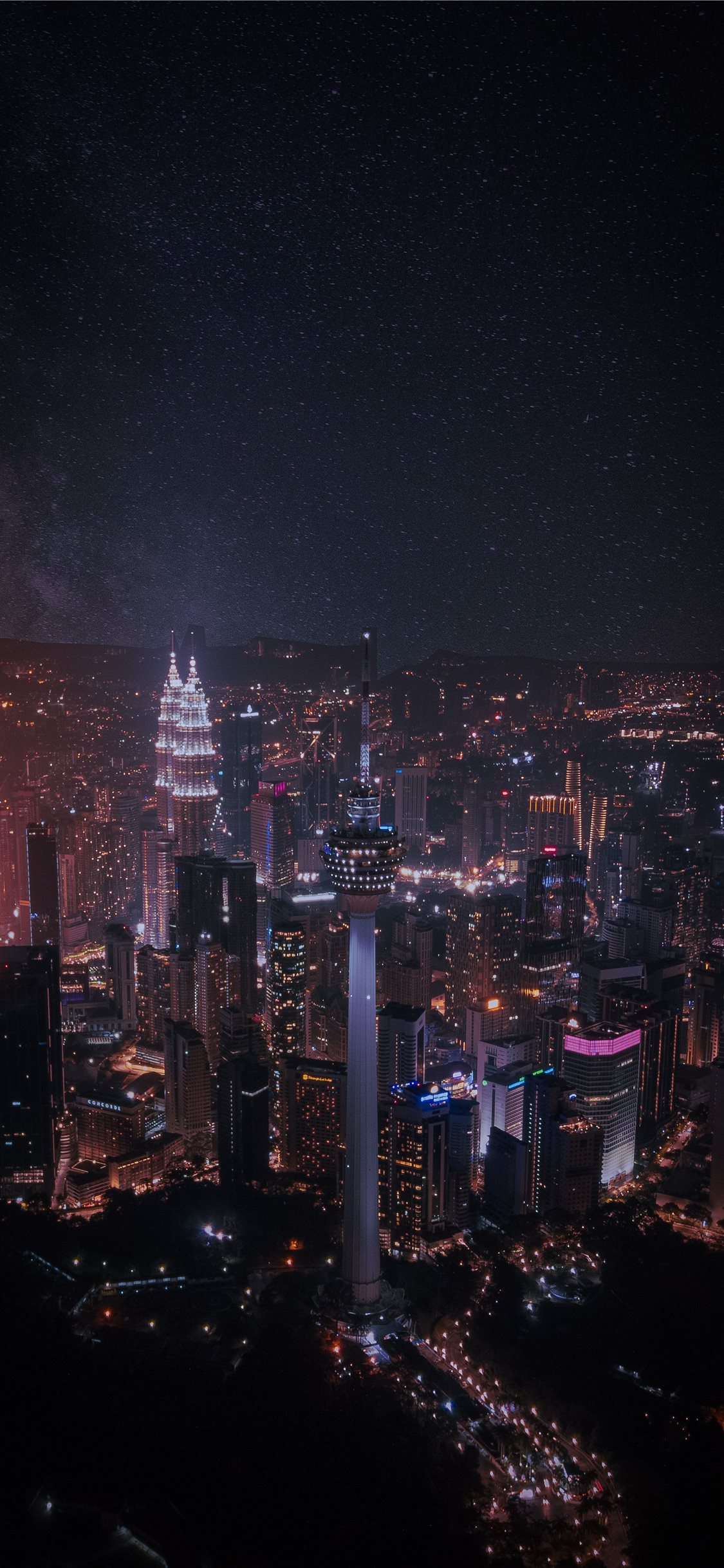 Imaginary Kuala Lumpur Iphone X Wallpapers Free Download