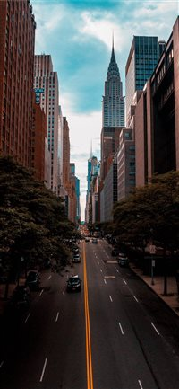 Chrysler Building  New York  United States iPhone X(S/Max/R) wallpaper