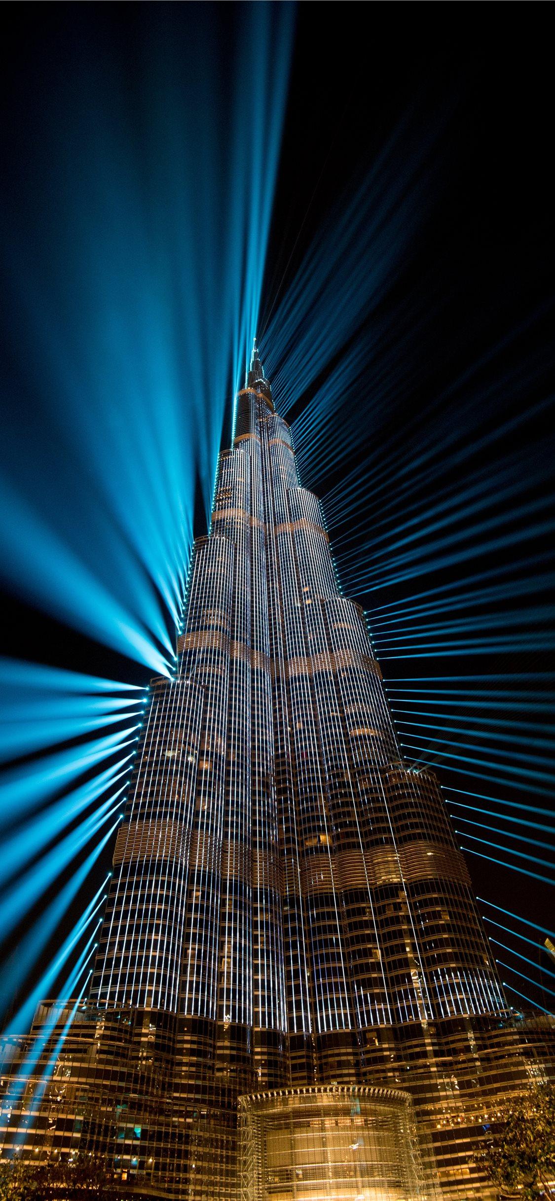 Burj Khalifa At Night Dubai Iphone X Wallpapers Free Download