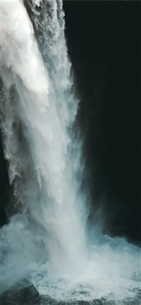 waterfall iPhone X wallpaper