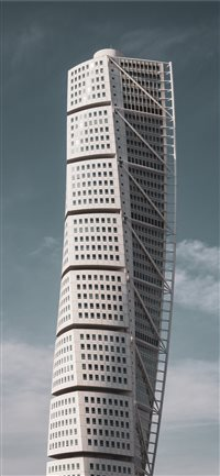 157 0 Turning Torso IPhone X Wallpaper