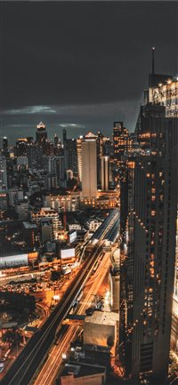 Busy Bangkok iPhone X(S/Max/R) wallpaper