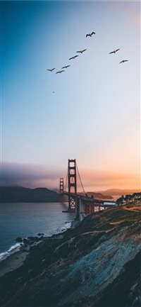 Golden Gate Bridge  United States iPhone X(S/Max/R) wallpaper