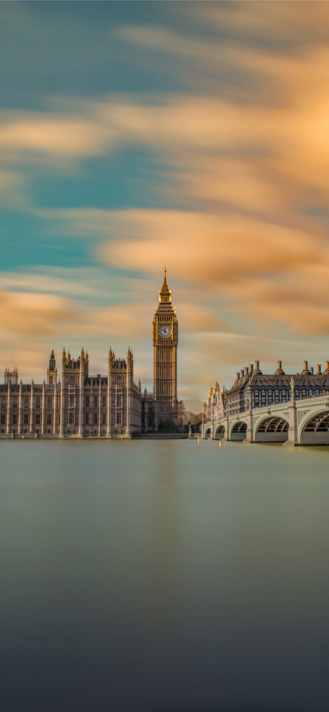 London Time Long Exposure Iphone X Wallpapers Free Download