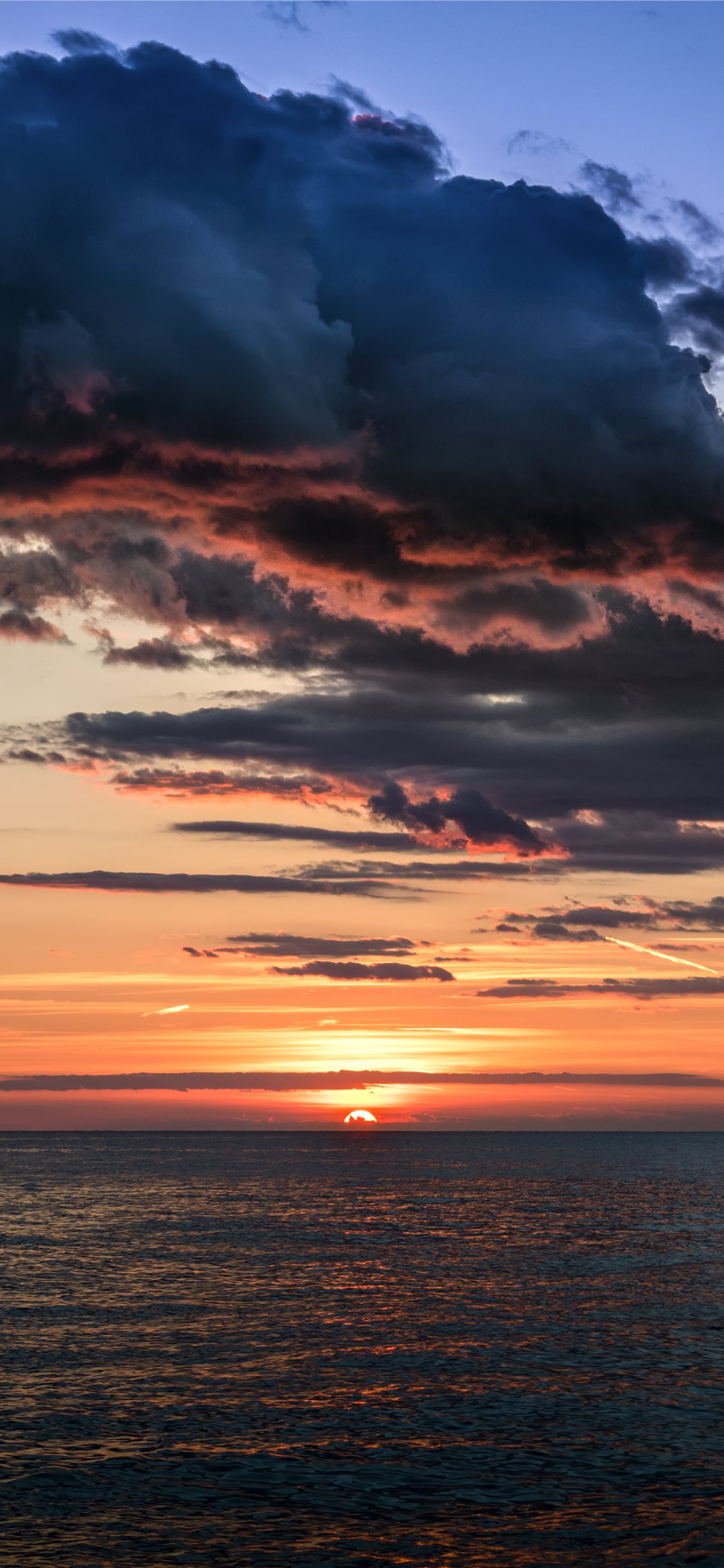 Tropical Sunset Croatia Iphone X Wallpaper Download Iphone