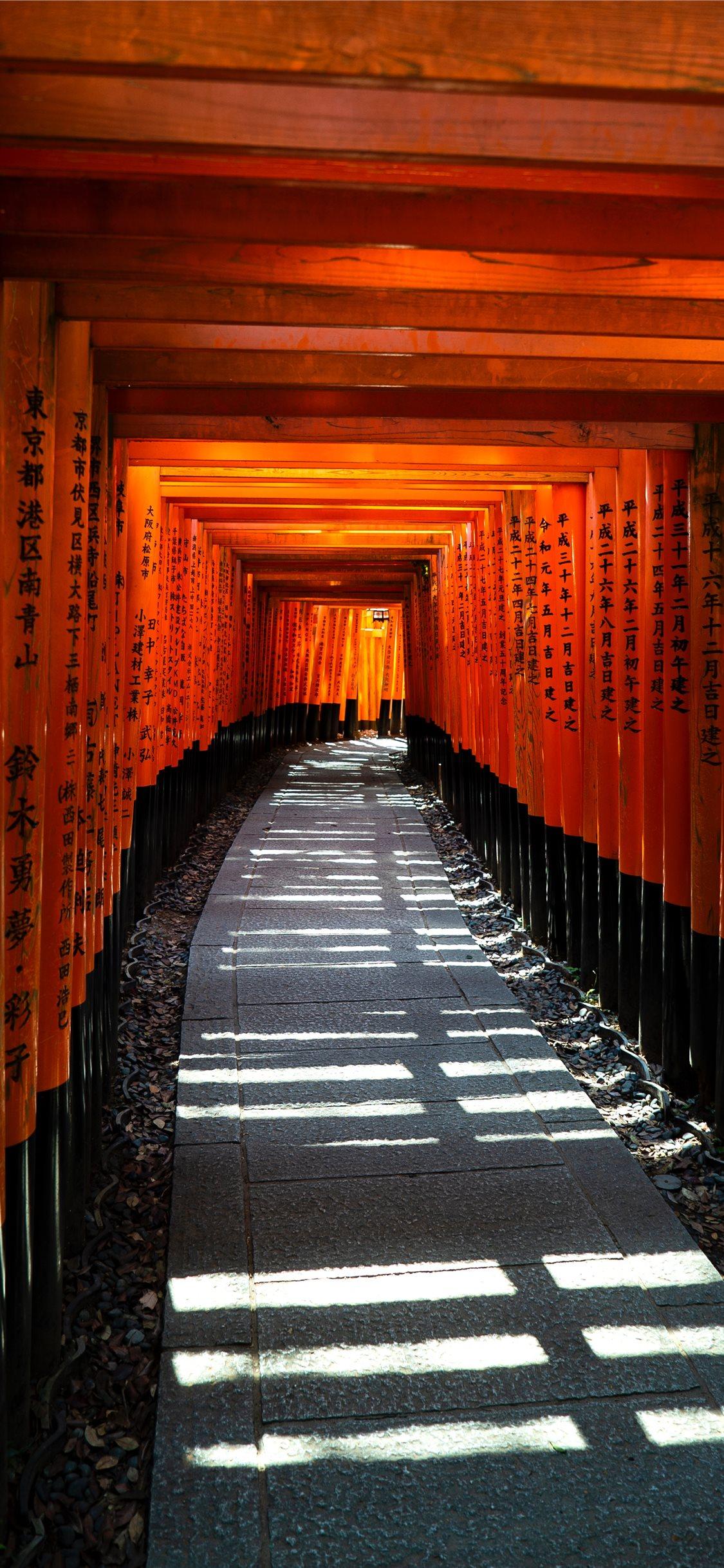 Fusihimi Inari Kyoto Japan Iphone X Wallpapers Free Download