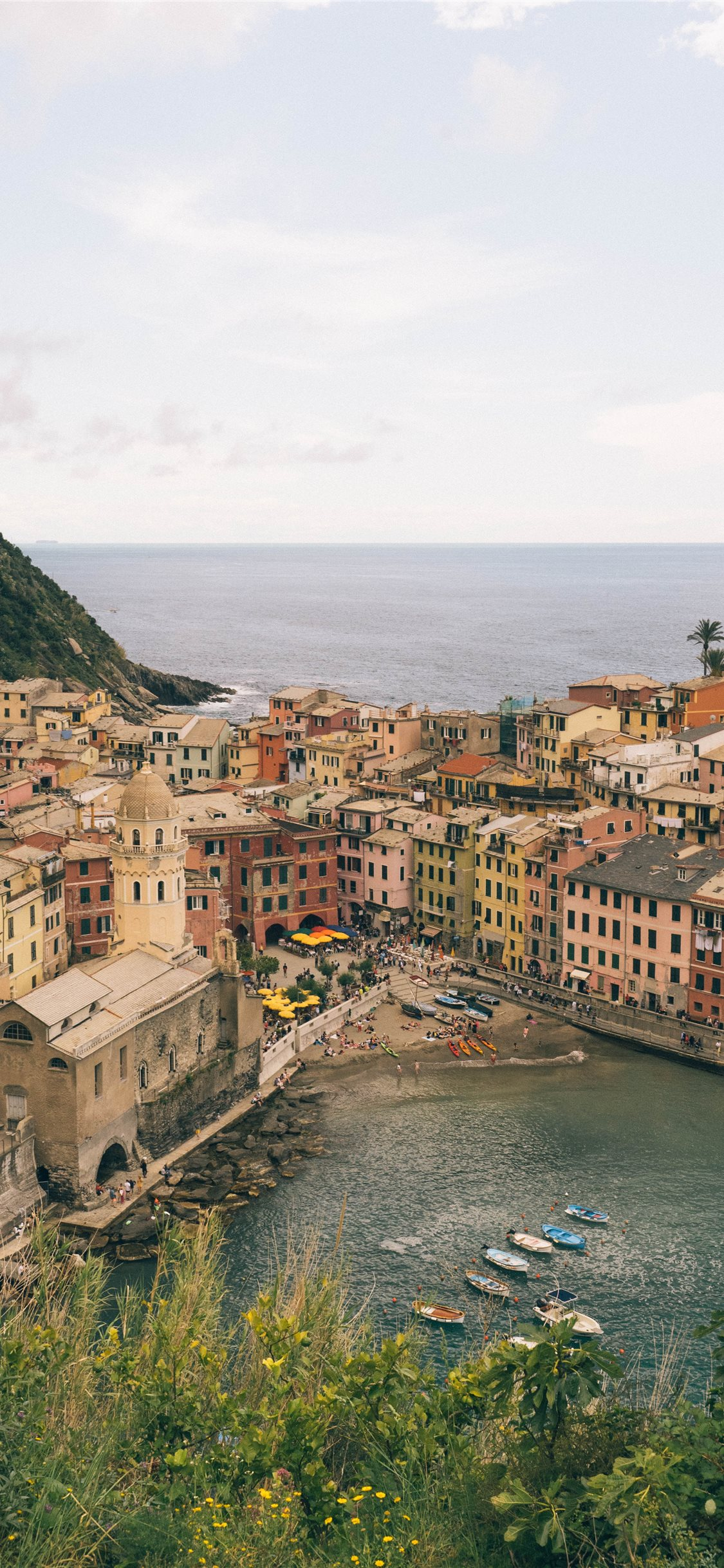 Vernazza Cinque Terre Italy May 2019 Iphone X Wallpapers