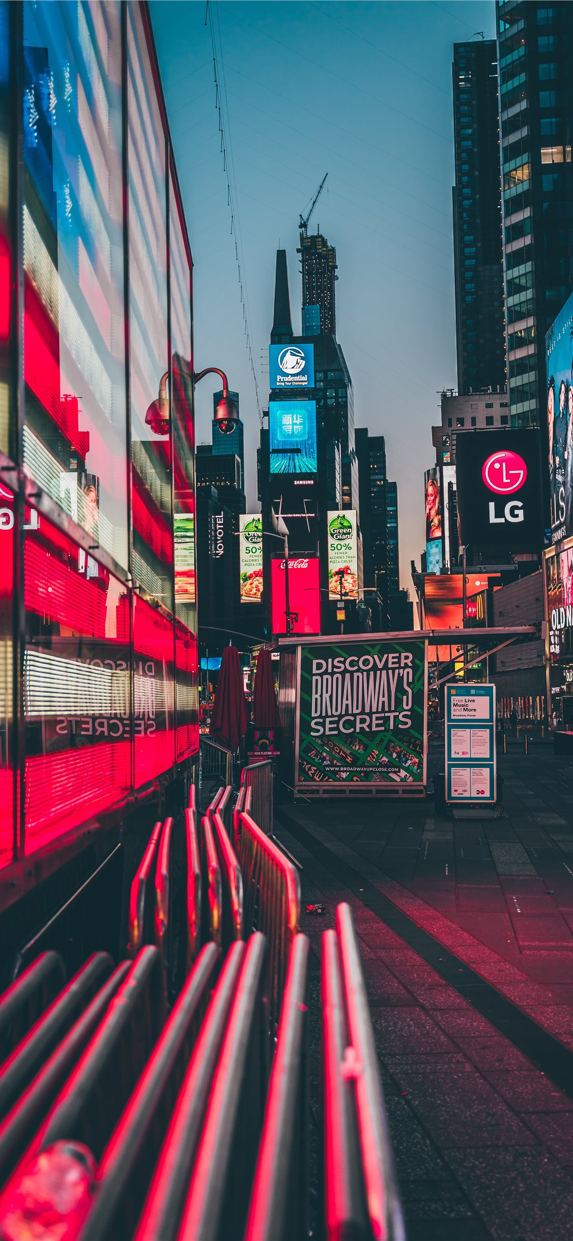 Times Square New York United States Iphone X Wallpapers Free Download