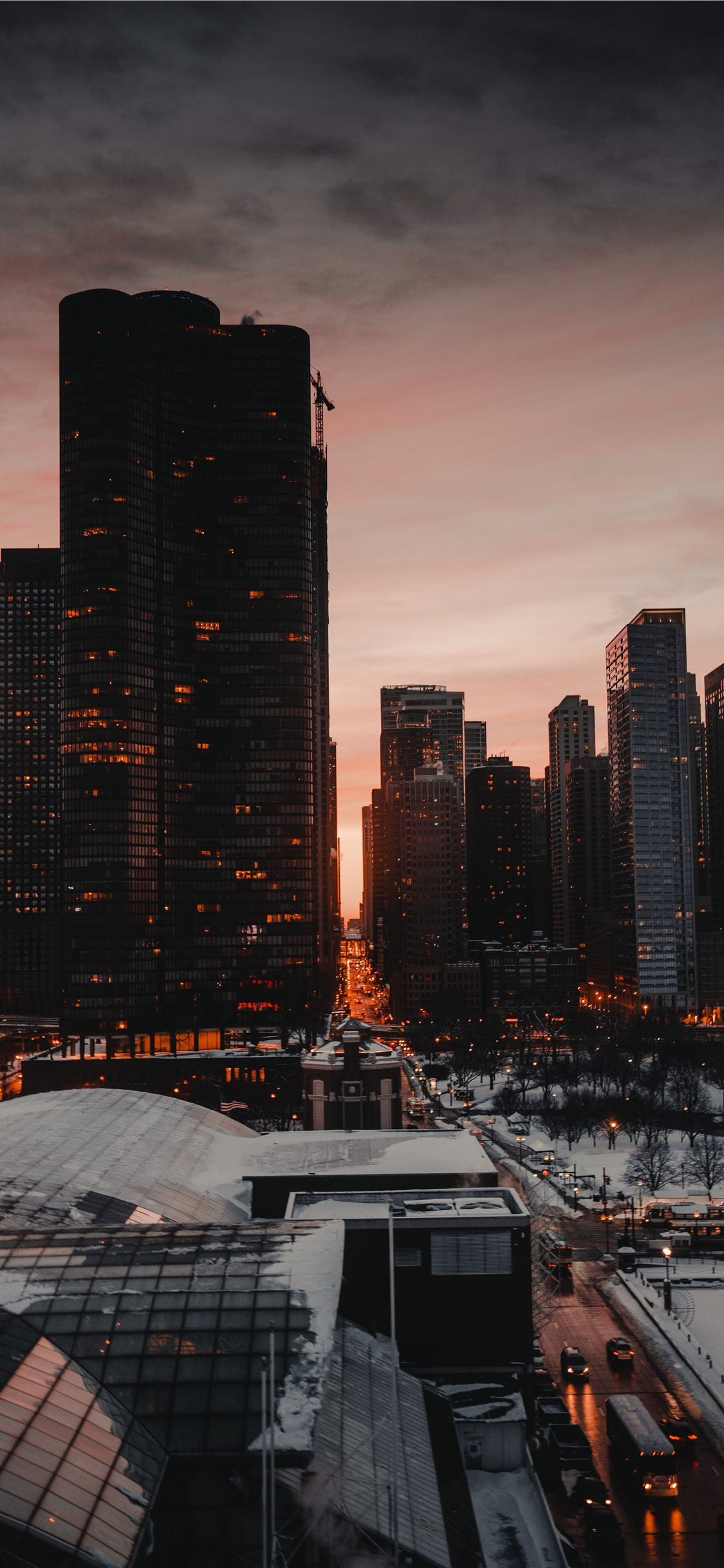 Chicago USA iPhone X Wallpapers Free Download
