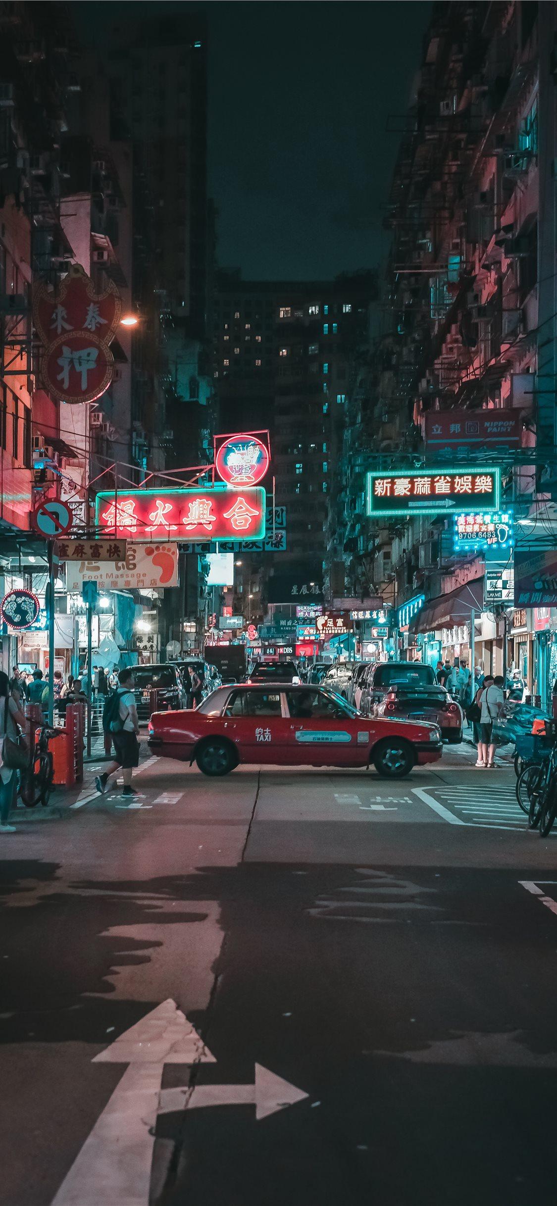 Yau Ma Tei Kowloon Hong Kong Iphone X Wallpapers Free Download