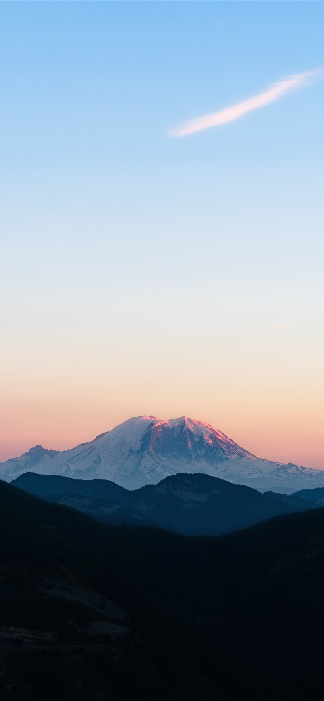 Mountain Rainier National Park Wa Iphone X Wallpapers Free Download