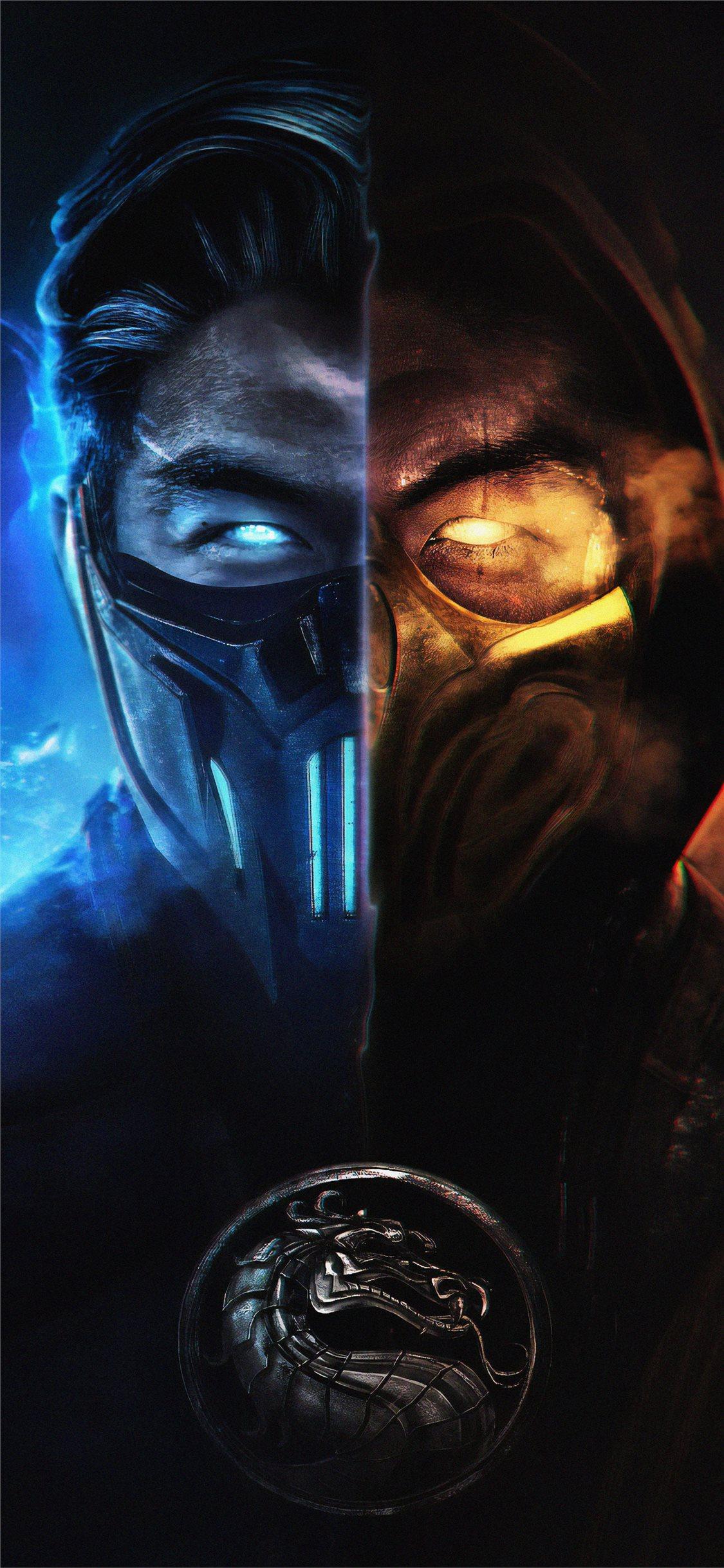 Mortal Kombat Subzero And Scorpion Iphone Wallpapers Free Download