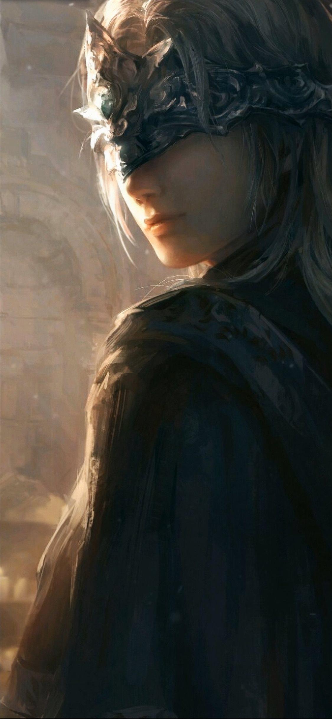 dark souls girl 4k iPhone X Wallpapers